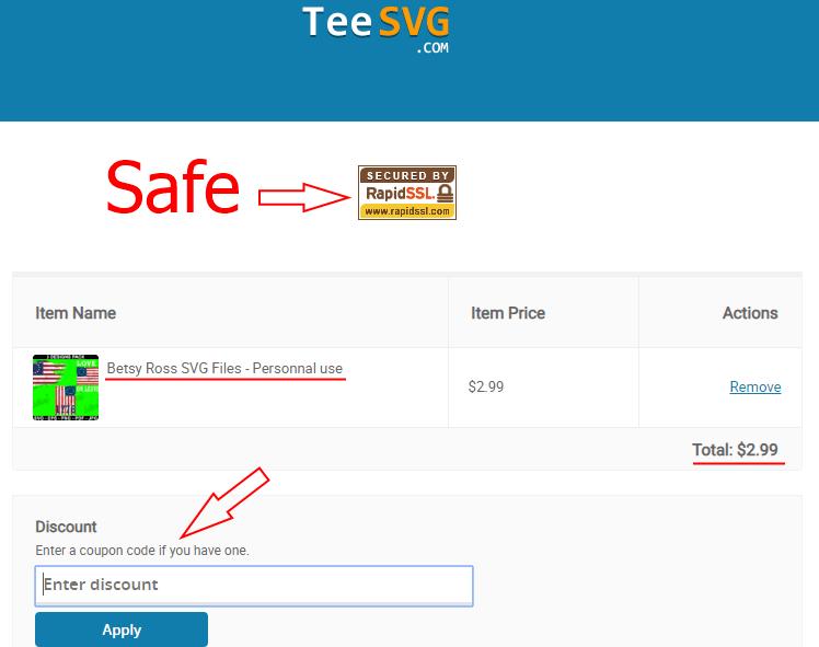 checkout info & discount - teesvg.com