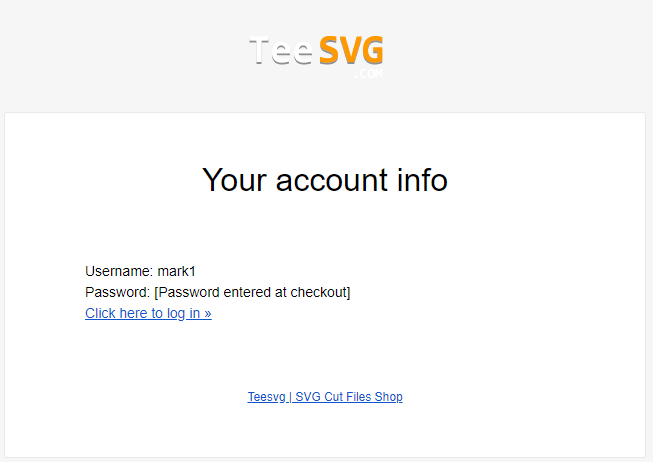 email account information teesvg