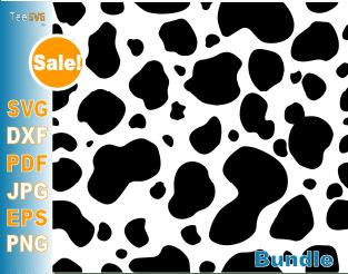 Dalmatian SVG spots