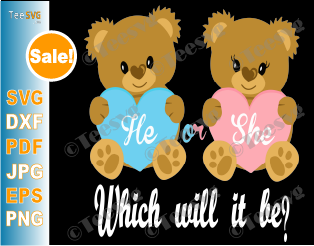 Gender Reveal SVG Baby Shower Prince or Princess Ethnic T-Shirt Design