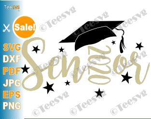 Senior 2020 SVG Cut File Senior Graduation Cap Design