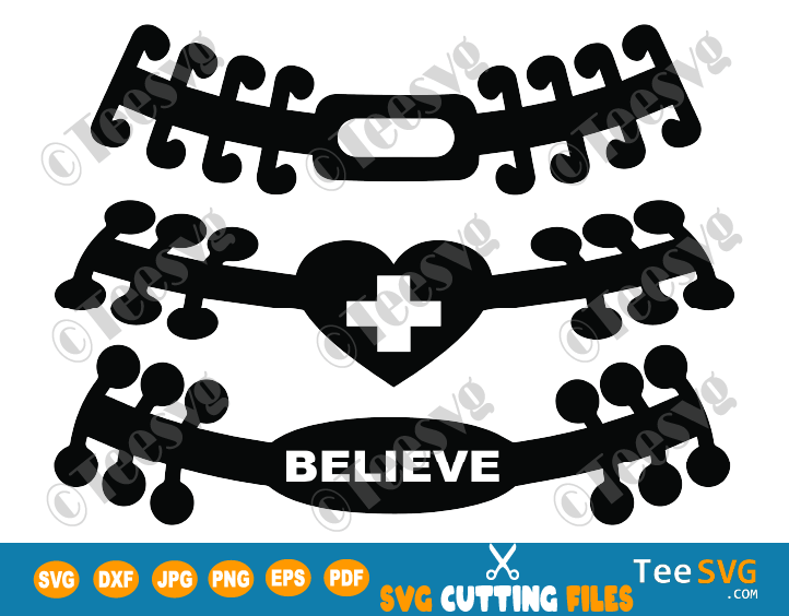Ear Saver SVG Bundle Template for Face Mask Surgical Mask Holder PNG Medical Clipart
