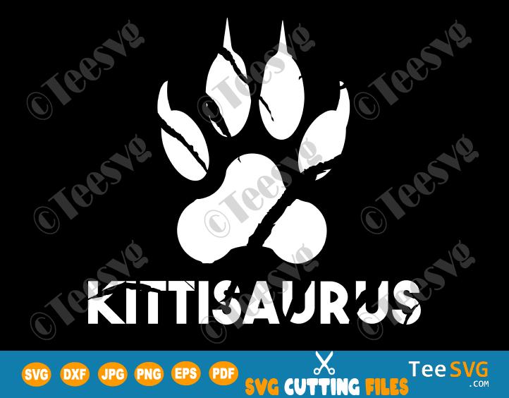 kittisaurus Lulusaurus SVG Shirt Funny Cat Lovers Gift Cats Breeds Sitting DD Merch