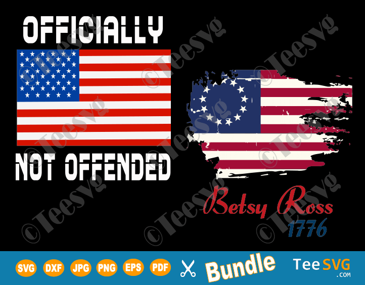 Betsy Ross 1776 SVG Betsy Ross Flag SVG 13 Stars Vintage US American Flag Shirt Decal PNG