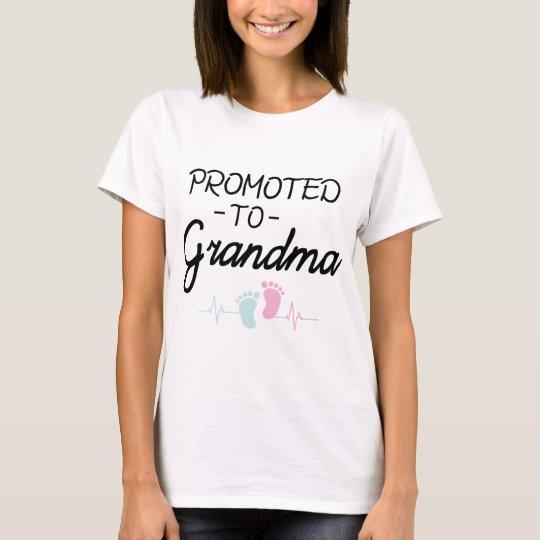 Promoted to Grandma Shirt