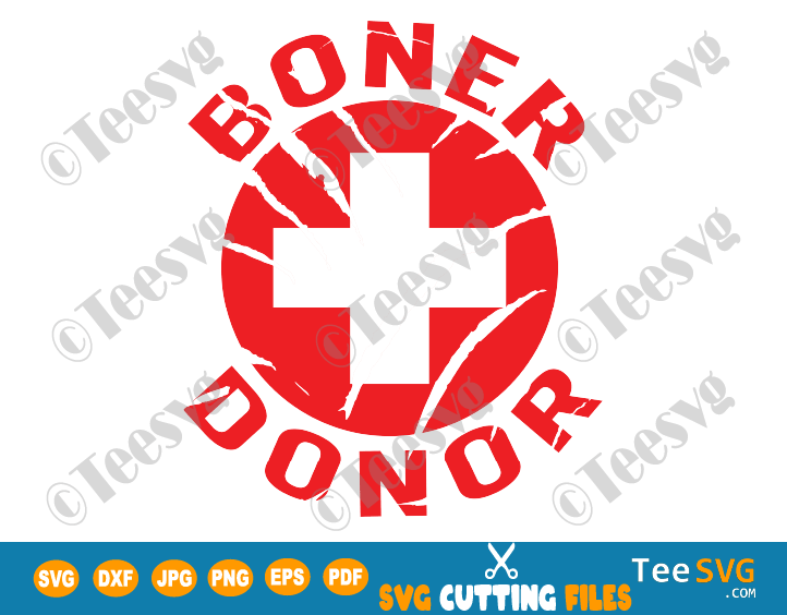 Boner Donor SVG Funny Halloween Costume Design Gift Shirt
