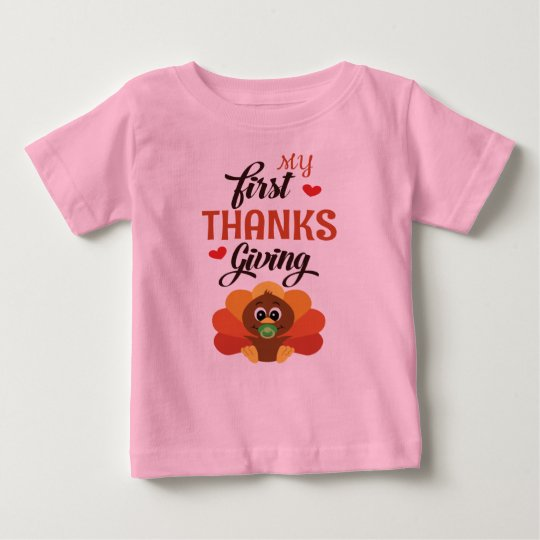 My first thanksgiving girl outfit Shirt