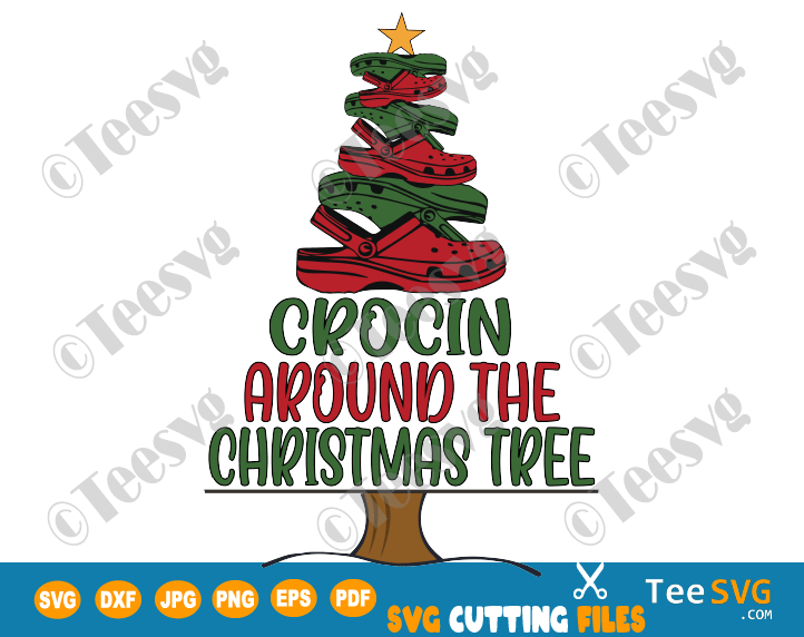 Crocin Around The Christmas Tree SVG Crocin Around The Christmas Tree PNG