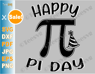 Pi Day SVG PNG, Happy Pi Day National Birthday, Cute Funny Teacher Math Love Geek Symbol