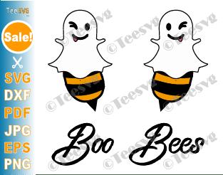 Boo Bees SVG File Halloween Shirt